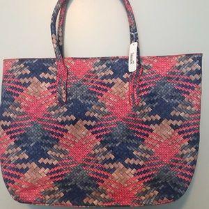 Pink & blue bag